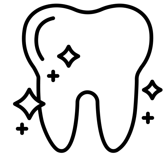 Clean Tooth Icon