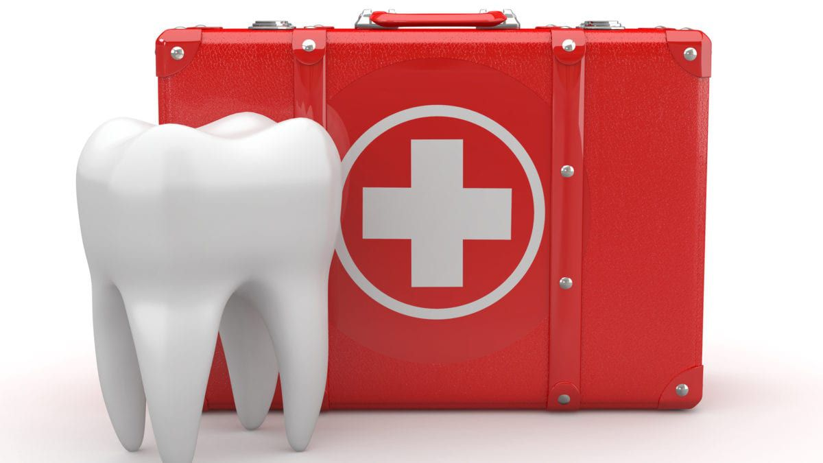 First Aid Kit With Tooth